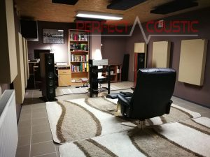 home theater acoustic repair - room acoustic treatment