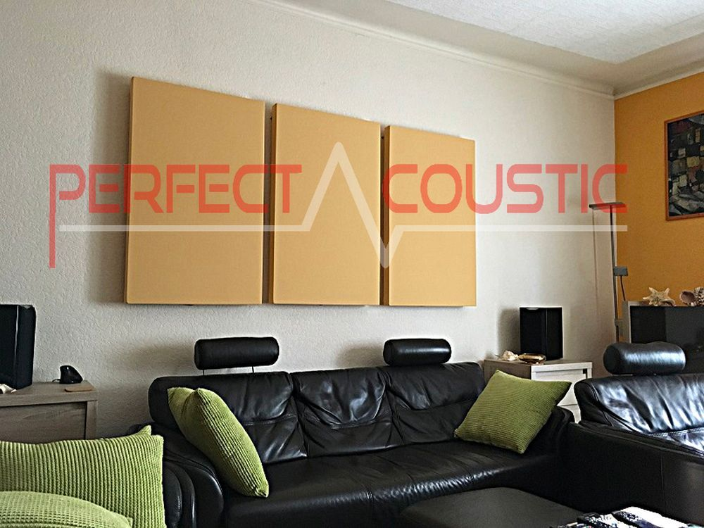 room acoustic design with acoustic absorbers (2)