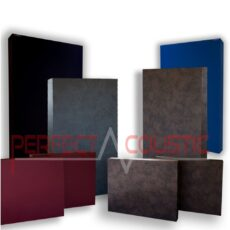 Sound acoustic panels with Membrane